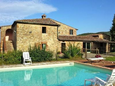 Photo for holiday home, Radicondoli  in Um Siena - 8 persons, 4 bedrooms