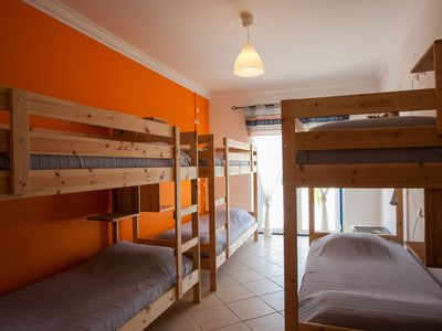 Photo for 6 Bed dorm room in a nice Villa with a private swimming pool