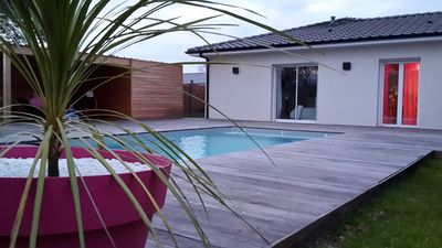 Photo for Between land and sea, contemporary and warm house