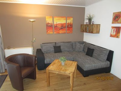 Photo for Modern and well maintained apartment in the district town - 2 to 4 people