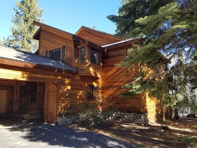 Photo for 5 BR, 4 en-suite BA + 2- 1/2 BA, 3,500 SqFt Custom Home Nestled in Tahoe Donner