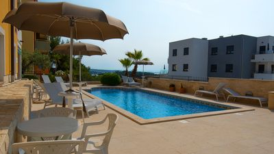 Photo for Apartment near the sea with swimming pool