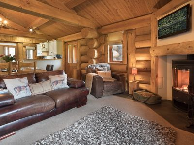 Snuggle down in the sofas