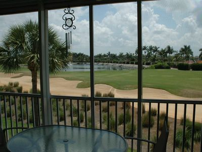 Photo for 2 BR/ 2 Bath Condo for rent on a championship 18 hole golf course with water acc
