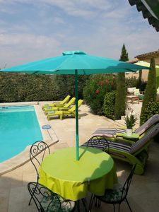 Photo for Puyricard, A charming and fully renovated provencal villa with a swimming pool