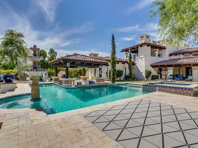 Photo for **10 BR PARADISE VALLEY ESTATE** +HOT TUB+HEATED POOL