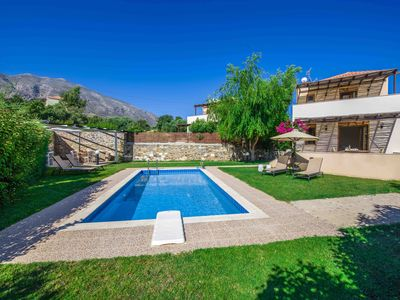 Photo for Gasparakis villas , Phaedra villa with private pool, garden and cocomat mattress