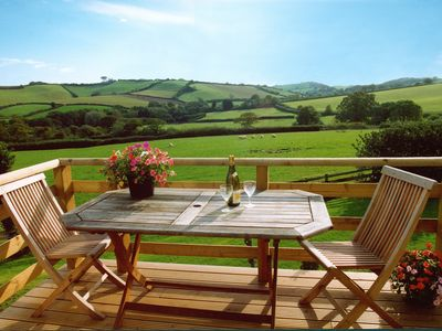 Photo for Stylish Cottage over looking the beautiful South Devon Countryside.
