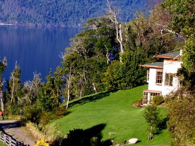 Photo for Breathtaking Lake-View Patagonia Farm Home In Spectacular Southern Chile