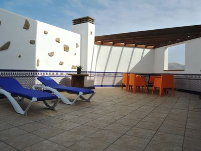 Photo for Beautiful Contemporary Apartment In El Cotillo Fuerteventura. All Year Round Sun