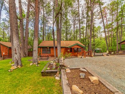 "Photo for ""The Lodge"" Cabin- Bright and Roomy-Plenty of Yard Space for Play"