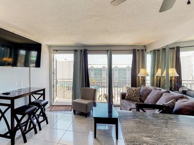 Photo for Beachview condo w/ shared pool - easy access to boardwalk & dining