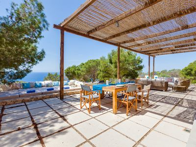 Photo for Amazing Formentera villa with pool, sea views and free daily cleaning