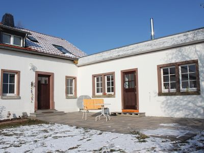 Photo for Holiday in the volcanic Eifel, small former farmhouse with sun terrace