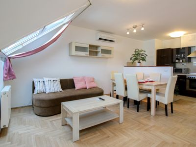 Photo for Gozsdu Court Budapest  2BR 2BA apartment - Apartment for 5 people in Budapest