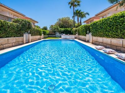 Photo for Playa de Muro Holiday Home, Sleeps 6 with Pool, Air Con and WiFi