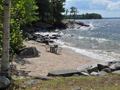 Sebago Lake Waterfront, Trad. Extended-family Summer Home