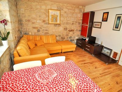 Photo for Apartment in the center of Trogir with Air conditioning (451796)
