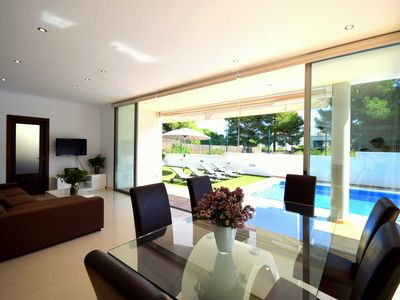 Photo for 44098 Modern villa Juan with pool (license 1824/16 / ET) - 44098 Modern villa Juan Son Serra
