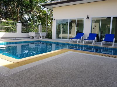 Photo for Beautiful, 5 bedroom, 4 bathroom Pool Villa for rent. 6th room available