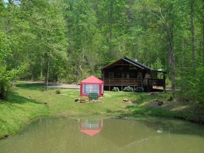 Photo for Sweet Valley Cabin - 6.5 acres Fishing Pond/Fire Pit 'Private'