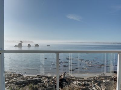 Photo for Enjoy the Oregon Coast from this bay front 3rd floor condo on the Siletz Bay!