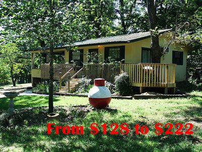 are lake hotel shore review reviews eureka waterfront excellent campground prices ar tripadvisor on arkansas rentals cabin beaver cabins springs