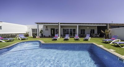 Photo for Stunning   private  villa with 4 double bedrooms