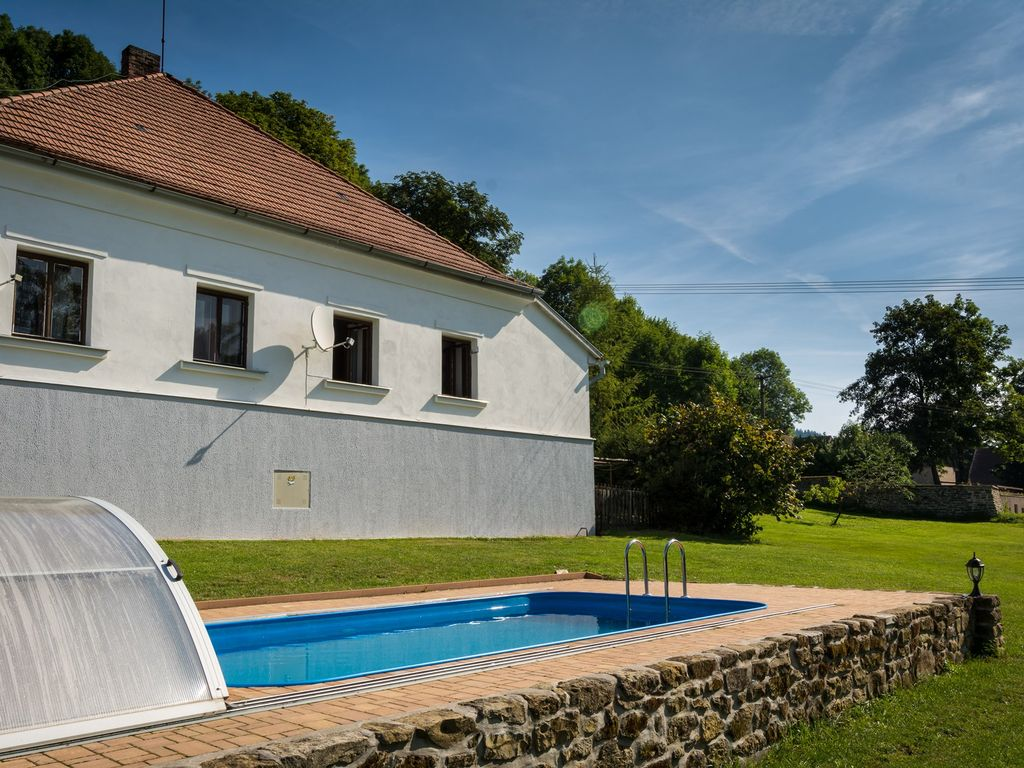 Holiday House With Outdoor Swimming Pool And Terrace Libice Nad Doubravou Vysocina Region