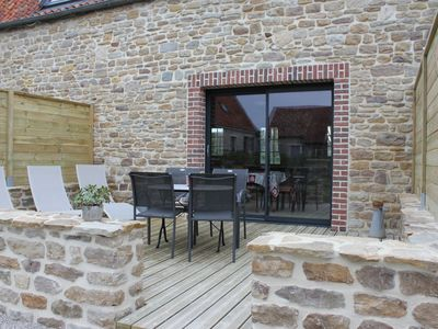 Photo for Charming cottage in the outbuildings of a 16th century manor