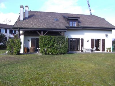 Photo for Large family villa in Swiss village near Geneva