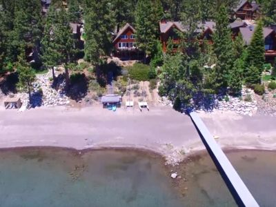 Photo for Lakefront, Private Sand Beach, Dollar Point, Cabin - Sleeps 14