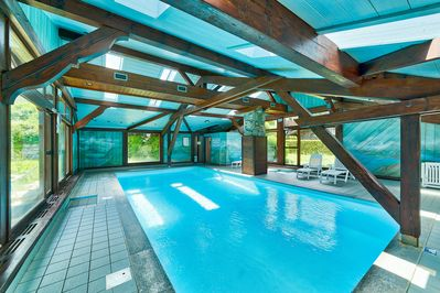 Piscine appartement les Houches