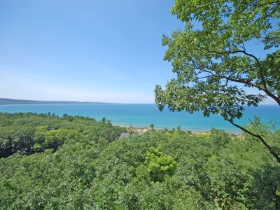 Photo for Beautiful Lake Michigan views from this 3BR/2BTH Condo in Glen Arbor!