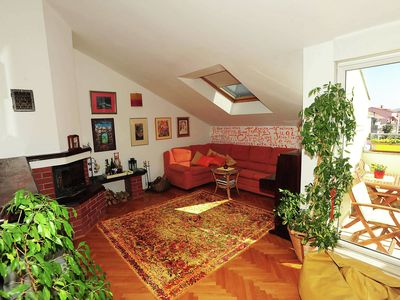 Photo for Charming and bright apartment with nice balcony in a quiet residential area WiFi