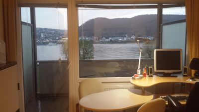 Photo for Modernized apartment with view of the Rhine in Bad Hönningen