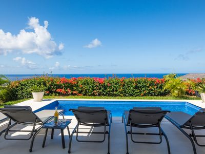 Photo for Villa Ohana: Luxury 4-bedroom villa with pool and stunning sea view