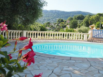 Photo for HOLIDAYS IN THE SUN, FRENCH RIVIERA, VENCE