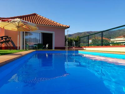 Photo for Paradise in Prazeres with Private Heated Pool and Free WIFI in Prazeres Calheta