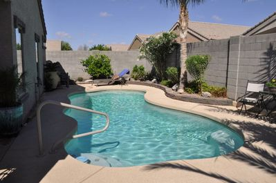 Private Pool with optional heat