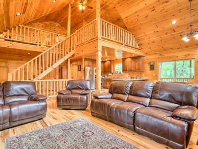 Photo for NEW virtual tours! HOLIDAY! Nov&Dec Dates Open Chocolate : Chalets of Raystown
