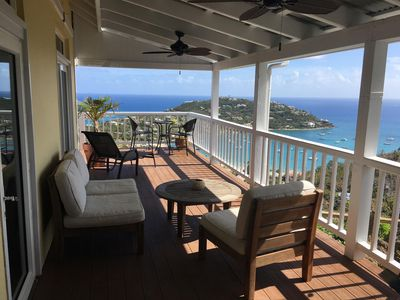 Photo for SPECTACULAR OCEAN VIEW VILLA BLISS AT UPPER DECK