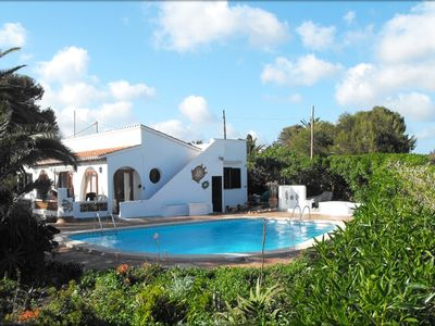 Photo for Villa Serena Rosa Spectacular Area with Large  Pool, Mature Garden and Sea Views
