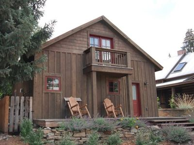 Photo for Cutest Cabin In Town! 1 Blk Off Elk, Walk to Everything! Completely Remodeled!
