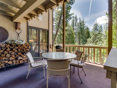Photo for Quiet, woodsy Donner Lake retreat surrounded by forest near area attractions!