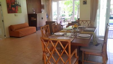 Large living & dining room (open plan)