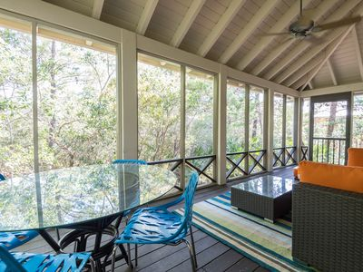 Photo for NEW! Beach Cottage along Highway 30A, very close to pool, easy stroll to beach