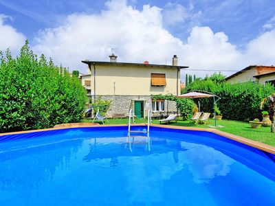 Photo for Lovely house with private swimming pool perfectly located in Montemarcello