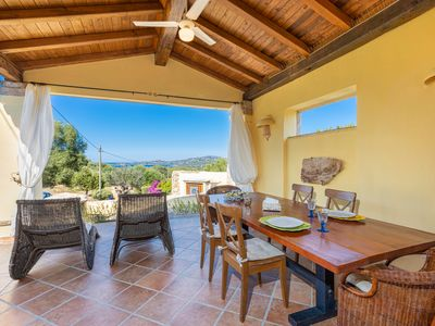 Photo for Villa Smeralda with sea view