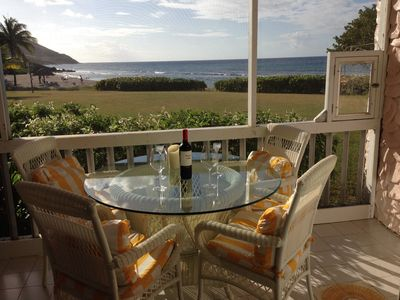 Photo for Jan.8 -17 7th nite free  2/BR 2/BA  Closest Building To The Sea! Ground level!